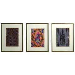Three Fine Woodcuts, Fauvist style, circa 1910