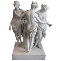 Three Graces Porcelain by Meissen