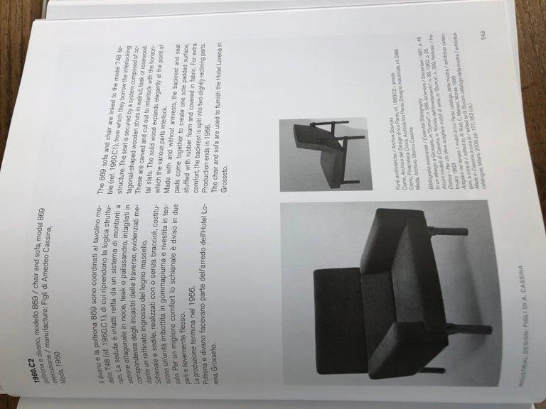 Three Italian Modern Ico Parisi Chairs in Walnut Model 869, 1960s For Sale 4