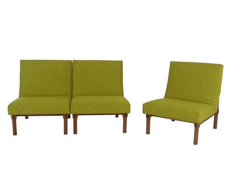 Three Italian Modern Ico Parisi Chairs in Walnut Model 869, 1960s In Excellent Condition For Sale In Hellouw, NL