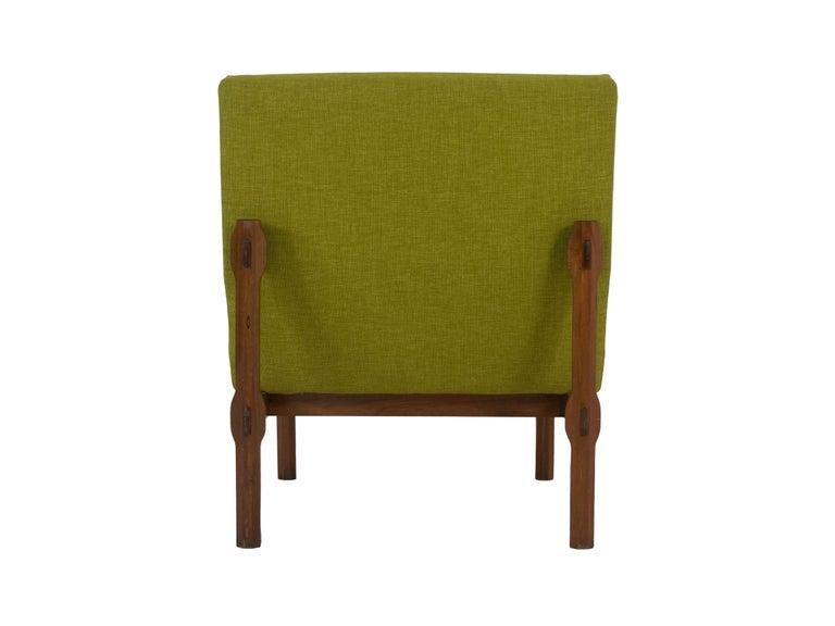 Three Italian Modern Ico Parisi Chairs in Walnut Model 869, 1960s For Sale 1