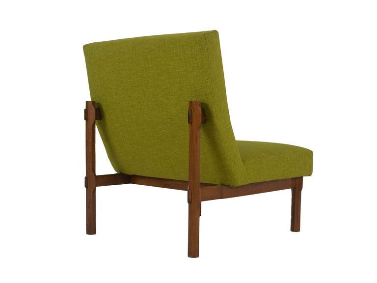 Three Italian Modern Ico Parisi Chairs in Walnut Model 869, 1960s For Sale 2