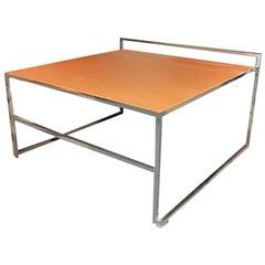 Three Italian Nesting Side Tables by Poltrona Frau