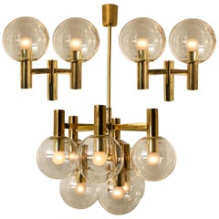 Three-Light Fixtures in the Style of Hans Agne Jacobsson, Schweden, 1960