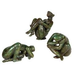 Three Limited Edition Bronze Figures by Antoniucci Volti