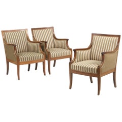 Three Lounge Chairs by Frits Henningsen