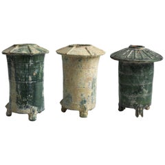 Three Models of Ancient Chinese Barn