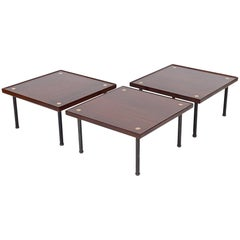 Three Modular Tables or Seats