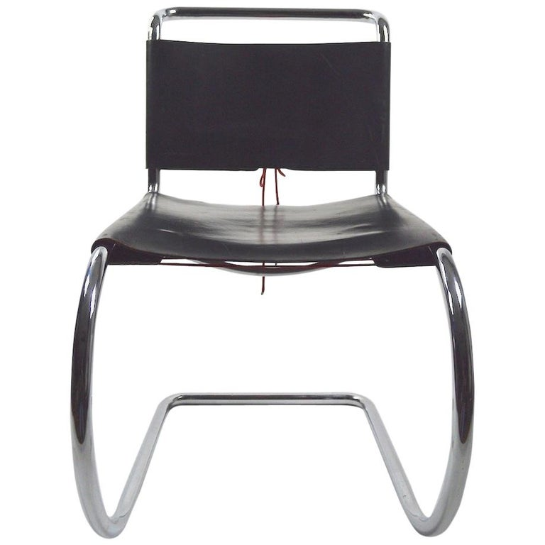 Three Mr Chairs Design By Ludwig Mies Van Der Rohe For