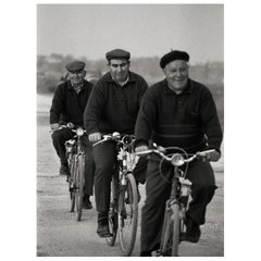 """Three of a Kind"" Black & White Photography Gelatin SilverPrint A.Maria Cortesão"