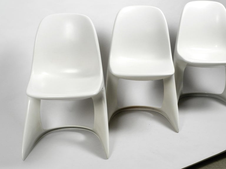 Three Original Casalino Chairs from Casala Model 2004/2005 from 1973 and 1980 For Sale 10