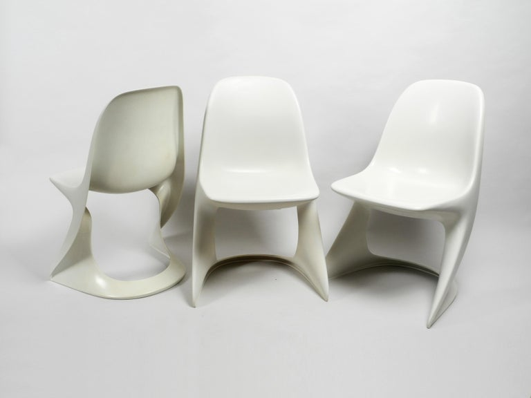 German Three Original Casalino Chairs from Casala Model 2004/2005 from 1973 and 1980 For Sale
