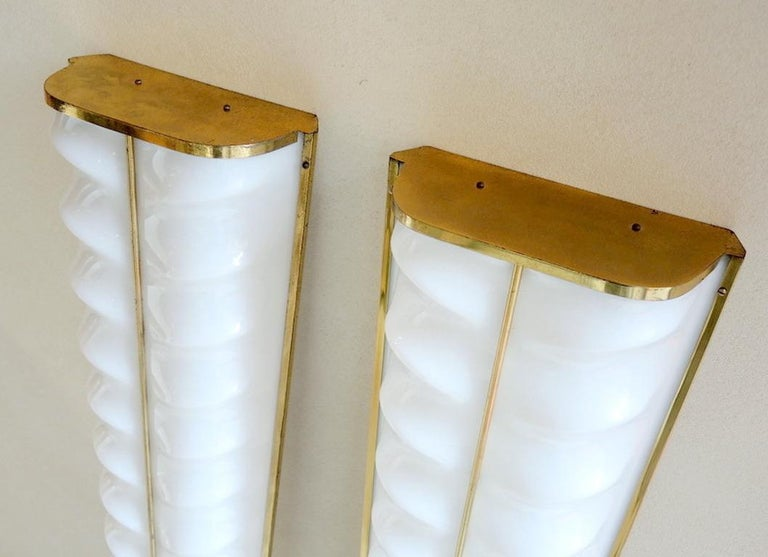 Pair of Cinema Sconces by Stilux - 3 Pairs Available For Sale 3