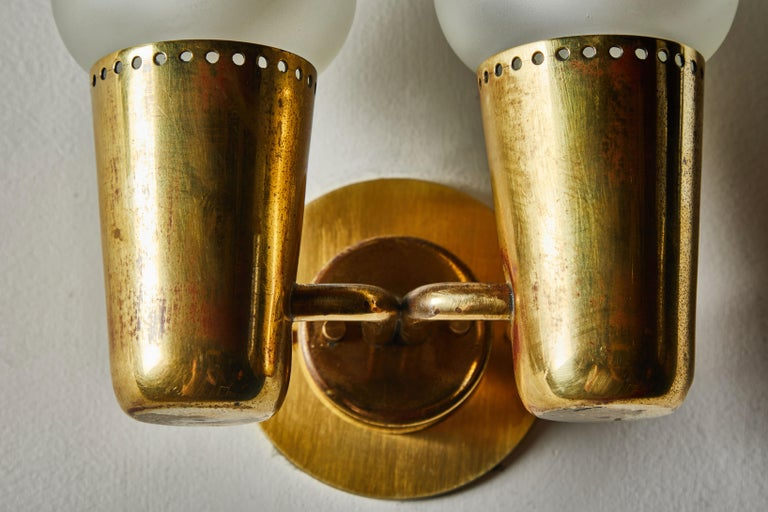 Three Pairs of Sconces by Gino Sarfatti For Sale 5