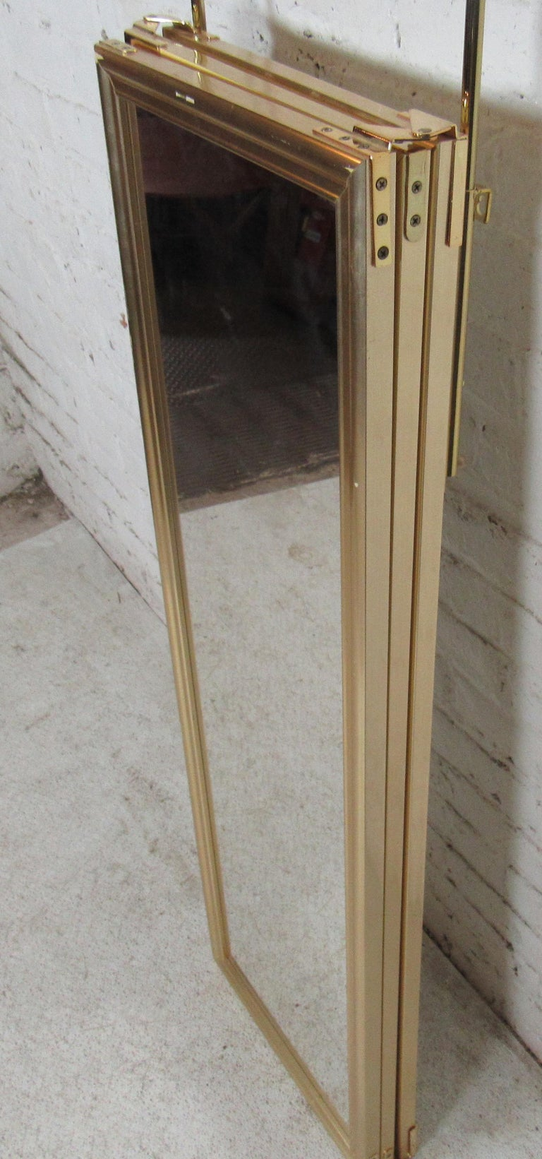 Three-Panel Hanging Mirror For Sale 1