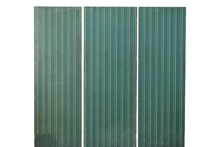 Three Panels Ludwig Heinrich Jungnickel Design for the Palais Stoclet circa 1909 For Sale 3