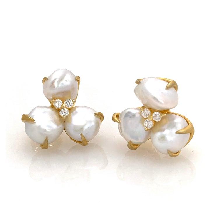 Beautiful pair of three-petal