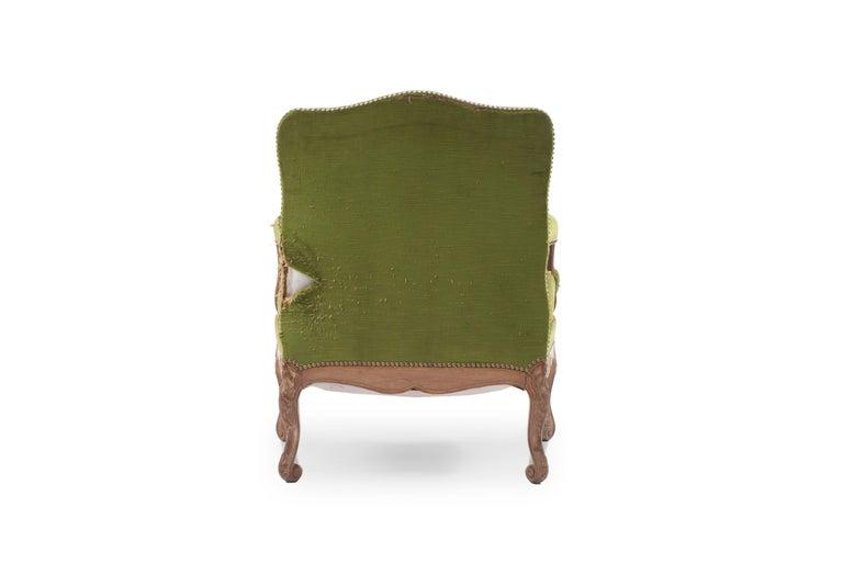 Upholstery Three-Piece French Regence Style Salon Set