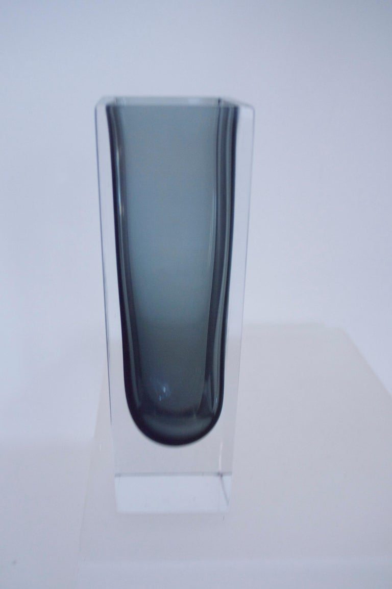 Vintage Collection Smoked Glass from Lindshammer and Kaj Franck for Nuutajarvi For Sale 1
