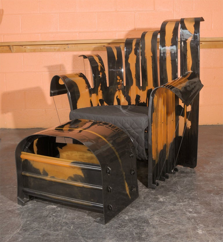 Italian Three-Piece Set of Gaetano Pesce Furniture For Sale