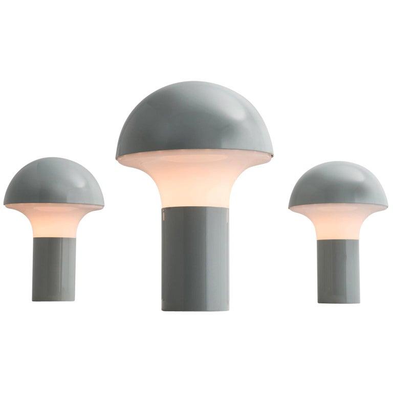 Three Postmodern Italian Mushroom Lamps For Sale