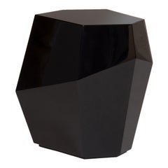 Three Rocks High Side Table, Black, InsidherLand by Joana Santos Barbosa
