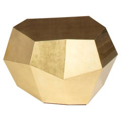 Three Rocks Medium Coffee Table, Gold Leaf, InsidherLand by Joana Santos Barbosa