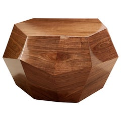 Three Rocks Medium Coffee Table, Walnut, InsidherLand by Joana Santos Barbosa