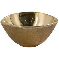 Three Sand Cast Bronze Bowls by Jaimal Odedra