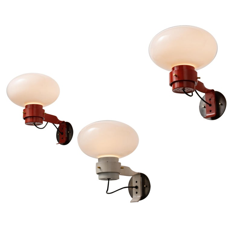 Three Sconces by Martinelli For Sale