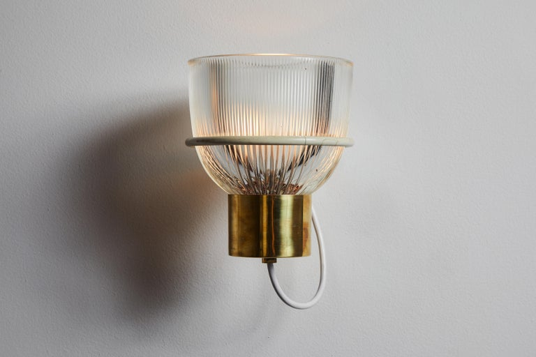 Italian One Sconce by Sergio Asti for Candle For Sale