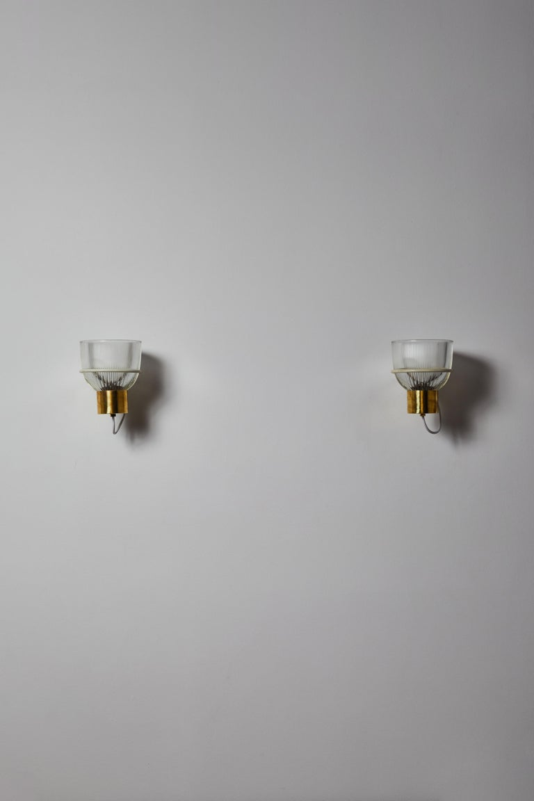 Mid-20th Century One Sconce by Sergio Asti for Candle For Sale