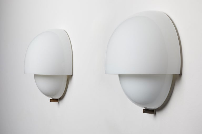 Mid-20th Century Three Sconces by Vico Magistretti For Sale