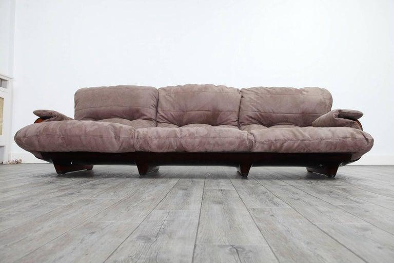 three seat marsala sofa michel ducaroy for ligne roset for sale at 1stdibs. Black Bedroom Furniture Sets. Home Design Ideas