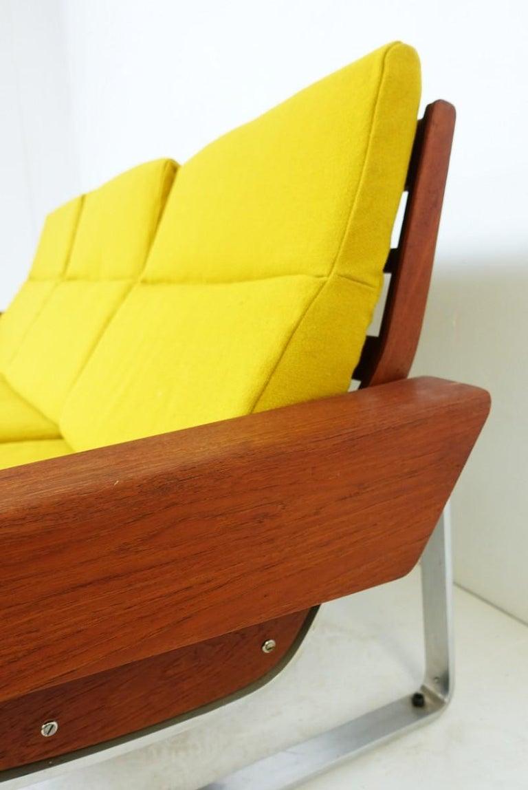 Three-seat sofa attributed to Cornelis Zitman, 1964.