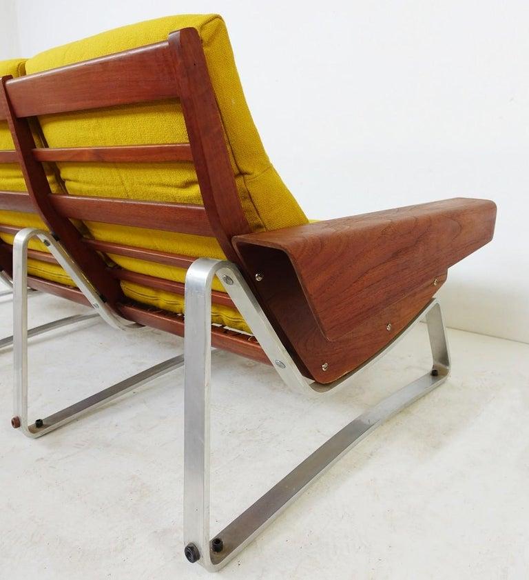 Modern Three-Seat Sofa Attributed To Cornelis Zitman, 1964 For Sale