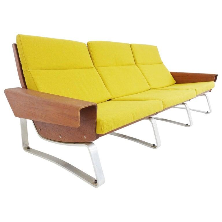 Three-Seat Sofa Attributed To Cornelis Zitman, 1964 For Sale