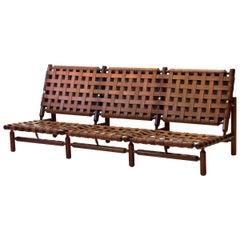 Three-Seat Sofa by Ilmari Tapiovaara for Paolo Arnaboldi, Italy, 1957