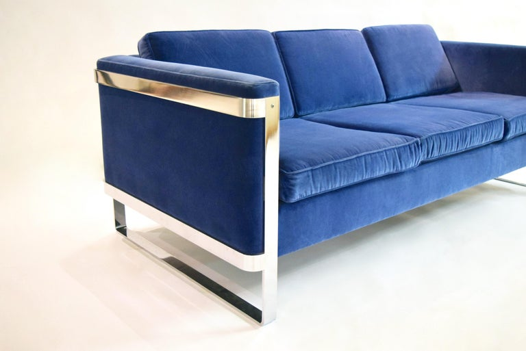 Mid-Century Modern Three-Seat Sofa by Pace Collection, USA, circa 1975 For Sale