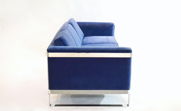 Three-Seat Sofa by Pace Collection, USA, circa 1975 In Good Condition For Sale In Jersey City, NJ