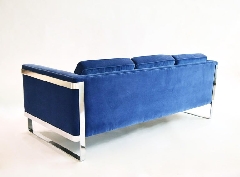 20th Century Three-Seat Sofa by Pace Collection, USA, circa 1975 For Sale