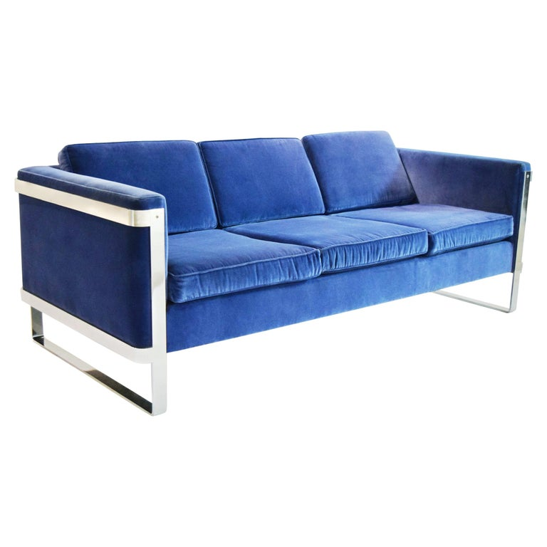 Three-Seat Sofa by Pace Collection, USA, circa 1975 For Sale