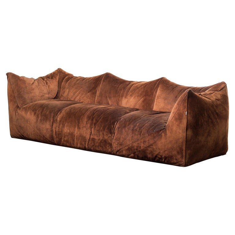 "Three-Seat Sofa Mod. ""Le Bambole"" by Mario Bellini For Sale"