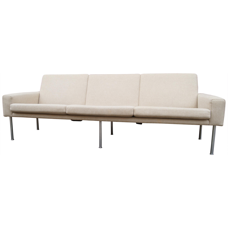 Three-Seat Sofa, Model AP34/3, by Hans Wegner for A.P. Stolen