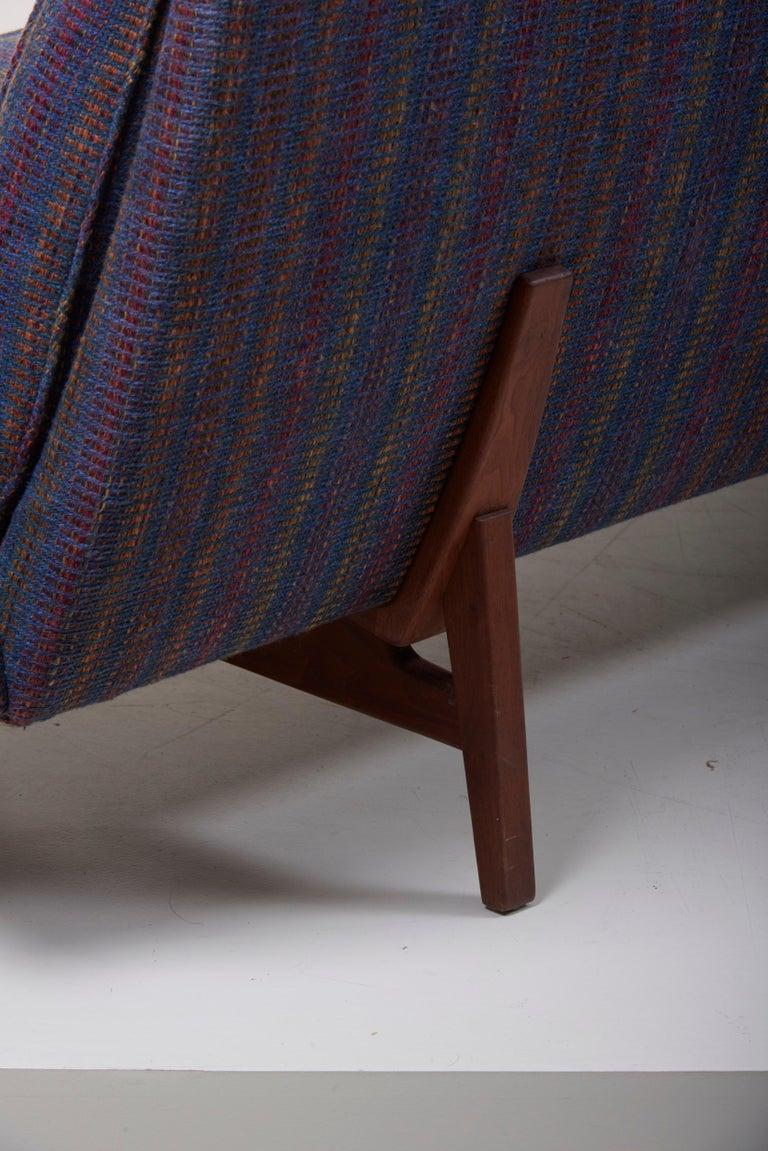 Three-Seat Jens Risom Sofa for Risom Design Inc in Good Condition In Good Condition For Sale In Berlin, DE