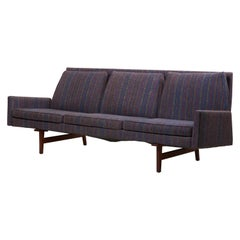 Three-Seat Jens Risom Sofa for Risom Design Inc in Good Condition