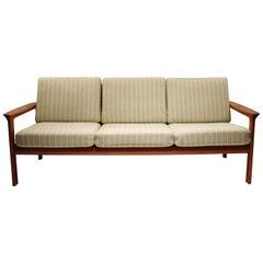 Three-Seat Sofa of Teak, by Svend Ellekær from the 1970s