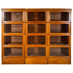 Three Stacking Bookcases in Light Oak Composed 4 Element, 20th Century, France