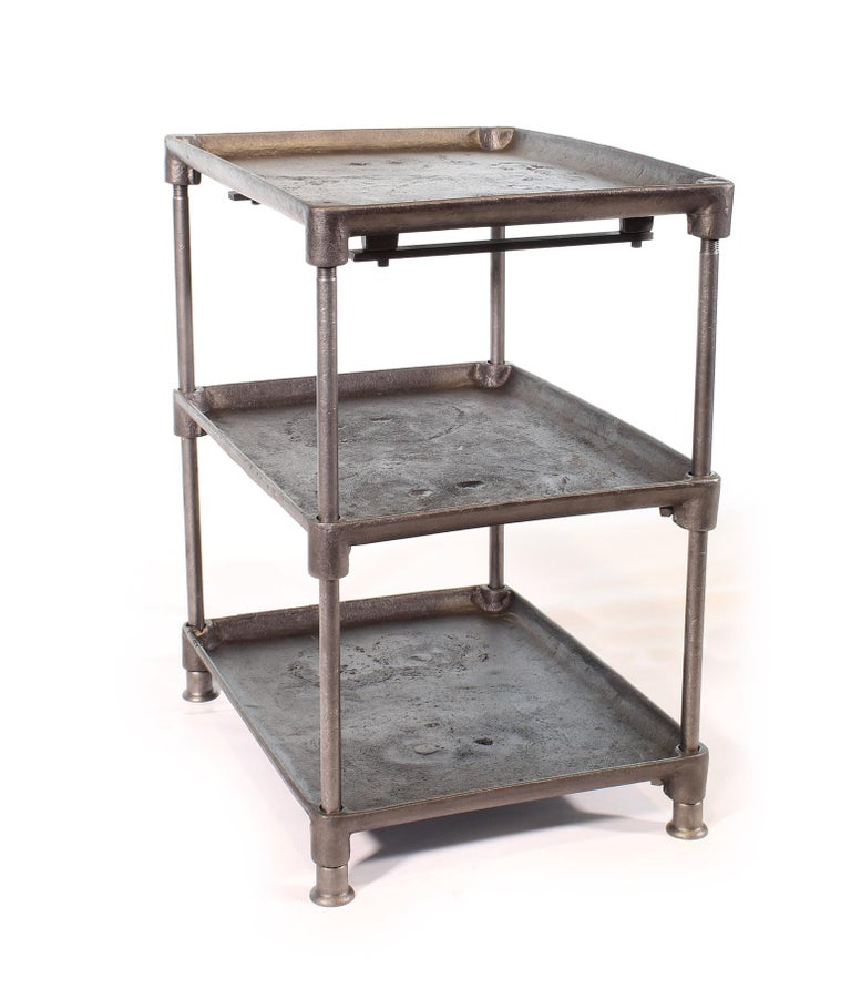 Three-Tier Cast Iron Table For Sale 1
