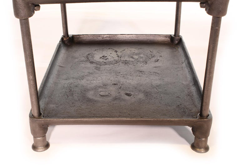 Three-Tier Cast Iron Table For Sale 2